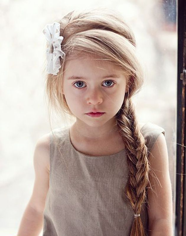 Kids Hairstyles For Girls beautiful little girl hairstyles but i would go messier Explore Young Girls Hairstyles And More