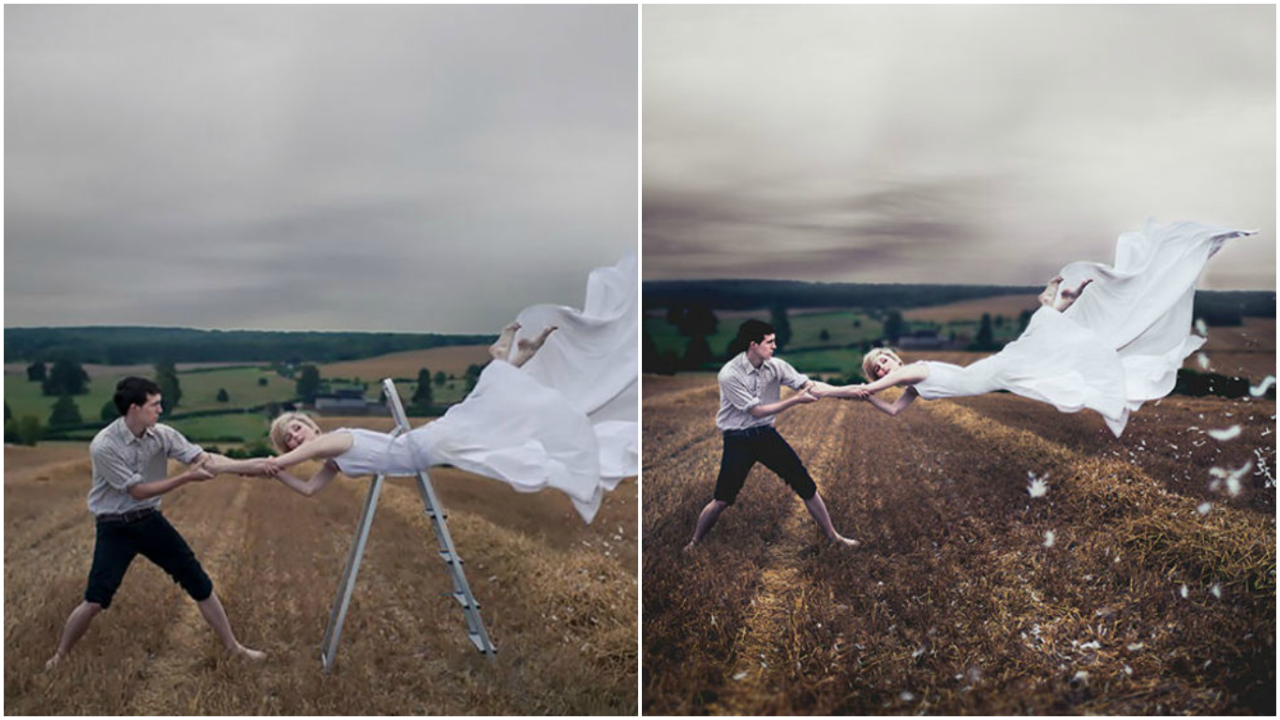 28 Brilliant Examples Of Clever Tricks That Photographers Use