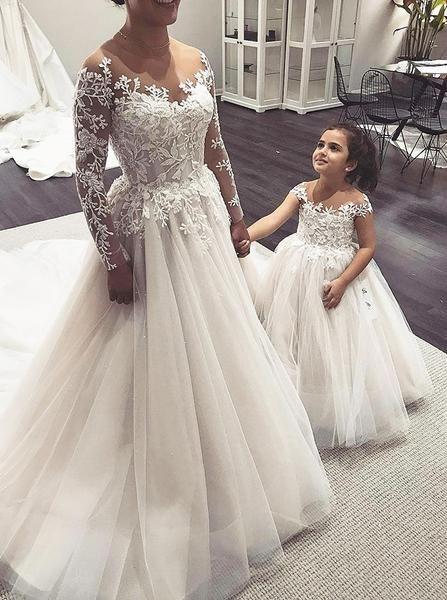 Wedding Dresses With Long Sleeves Ball Gown Wedding Dress Romantic Classic Wedding Dress P Vestido De Casamento Vestidos De Noiva Estilo Princesa Noiva Rustica
