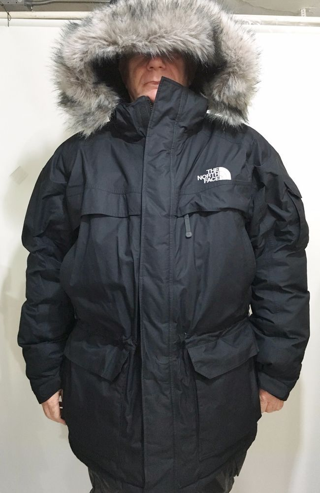 034a00dbc The North Face Mens 3XL Black Hooded Goose Down Parka 550 Jacket ...