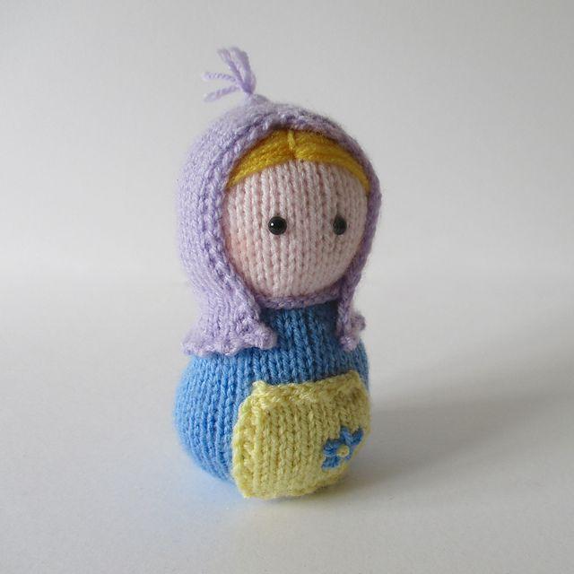 Ravelry: Matryoshka pattern by Amanda Berry   Knitting ...