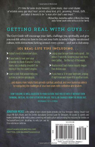The Guy S Guide To God Girls And The Phone In Your Pocket 101 Real World Tips For Teenaged Guys Paperback April 1 2014 Phone Pocket G Guys God Guide