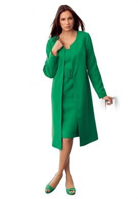 2-Piece Jacket Dress | Plus Size Dresses & Sets | OneStopPlus ...