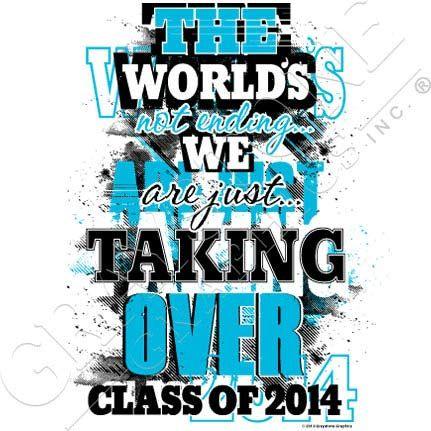 Graystone Graphics Inc. Senior Class Shirt Design | Senior Class of ...