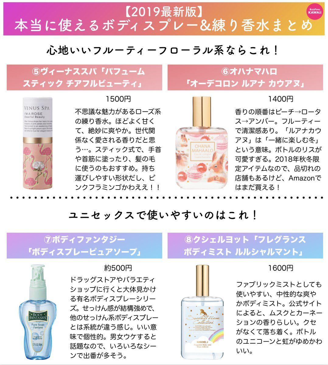 Buzzfeed Kawaii On 香水 人気 香水 メンズ ボディミスト