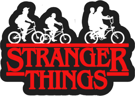 Pin By Diana Siles Martinez On Stranger Things Wallpaper Black Stickers Stranger Things Sticker Cute Stickers