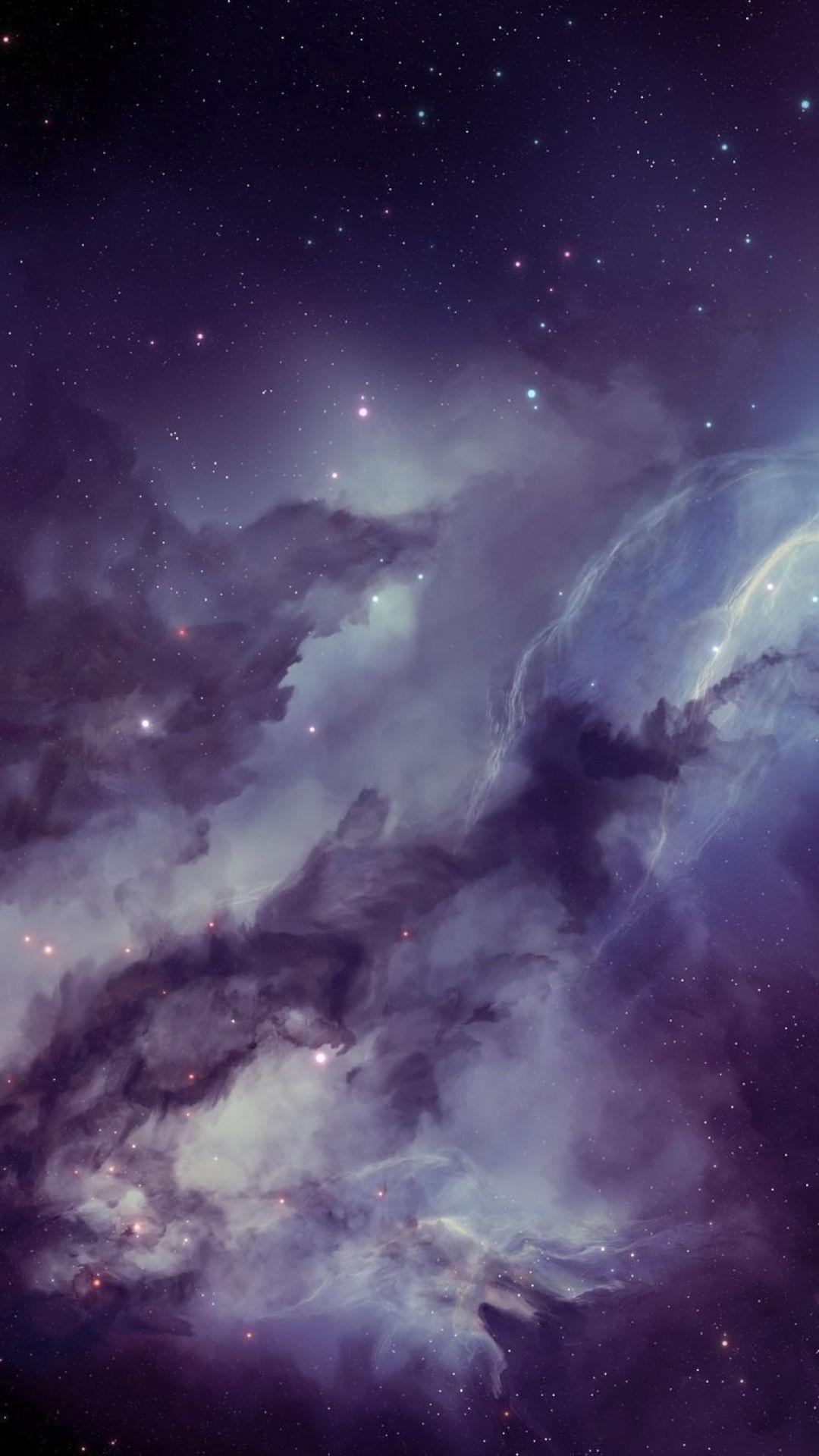 Pin by meggan sloas on mobile wallpapers galaxy - 1080p nebula wallpaper ...