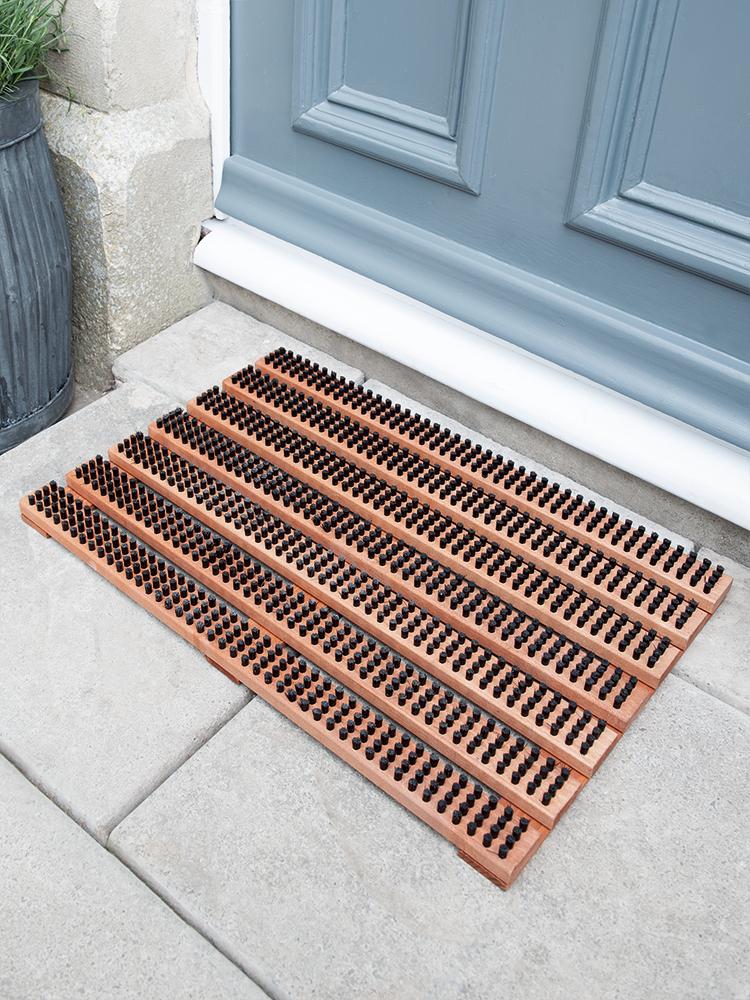 NEW Wooden Slatted Doormat | Front doors | Pinterest | Door mat ...