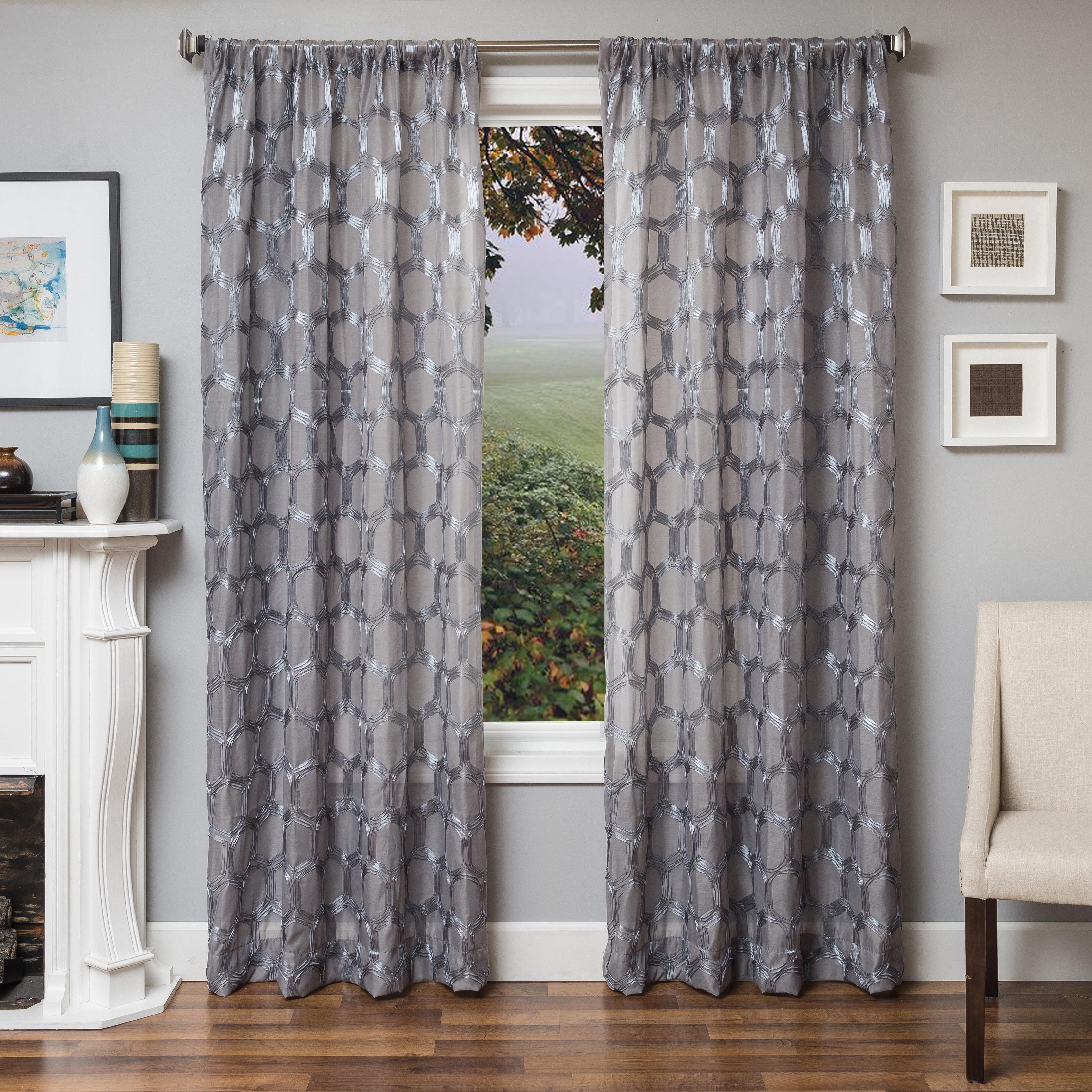 Rochelle 96 Sheer Panel Curtain Ashley Furniture Homestore Sheer Curtain Panels Panel Curtains White Sheer Curtains