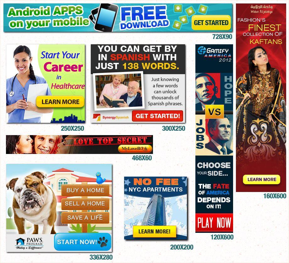 banner ads | Advertising | Pinterest