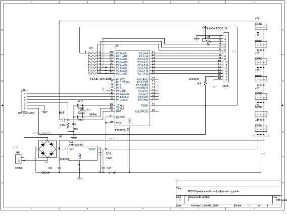 dtmf based robo car schematic of the 8051 development boarddtmf based robo car schematic of the 8051 development board provided by plc institute of electronics