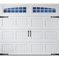 Pella Carriage House Series 96 In X 84 In Insulated White Single Garage Door With Windows White Garage Doors Single Garage Door Garage Door Panels