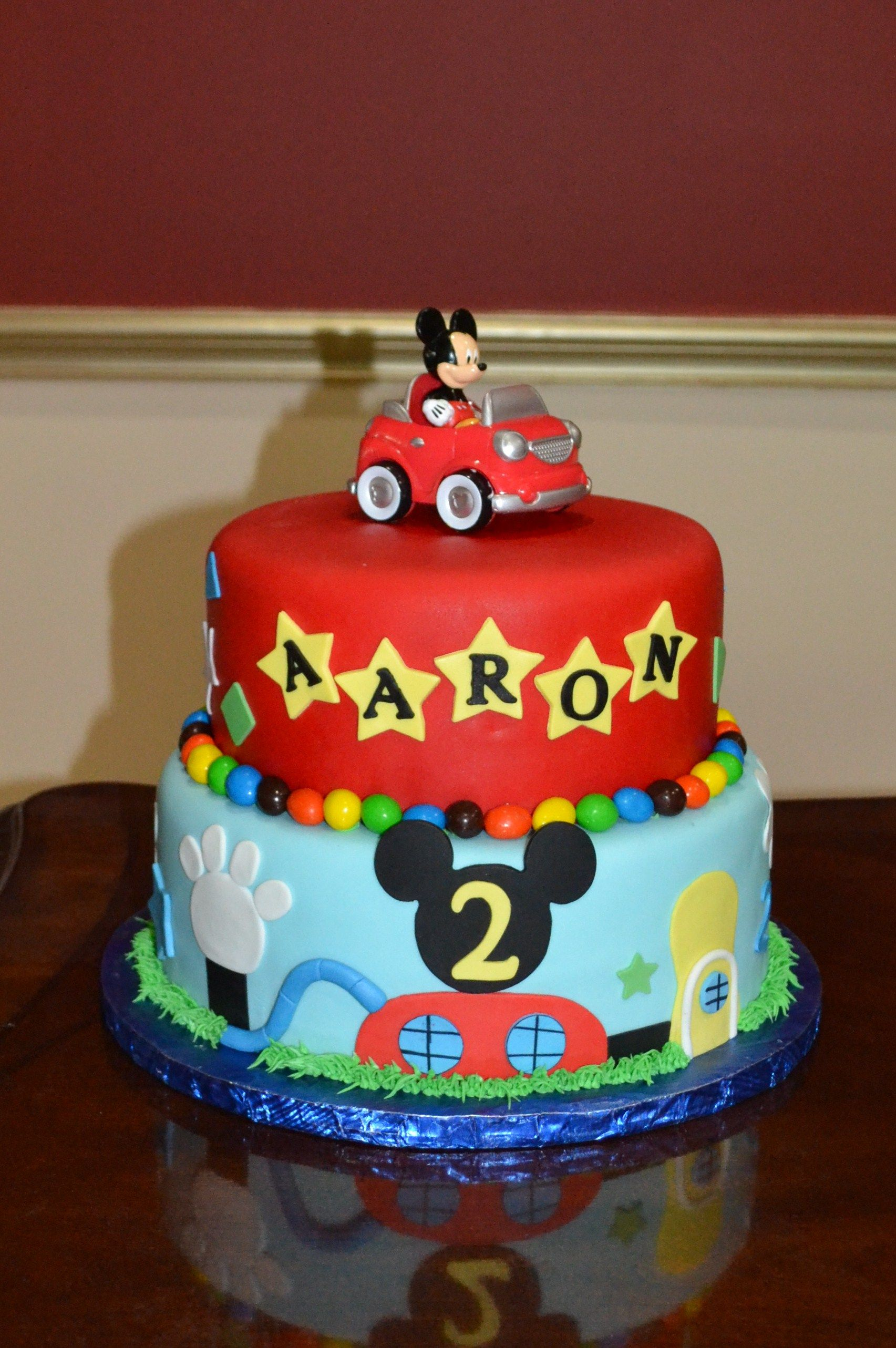 Mickey Mouse Cakes Google Search Johnsons Nd MM BDay Party - Mickey birthday cake ideas