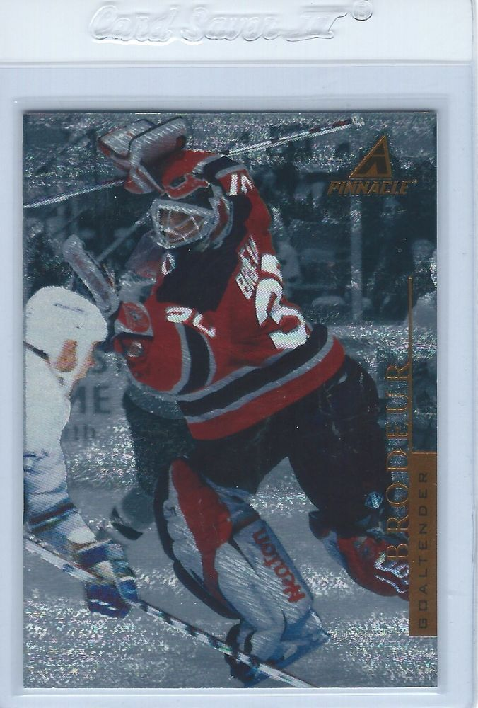 1997-98 Martin Brodeur Pinnacle Rink Collection #PP43 New Jersey Devils #NewJerseyDevils