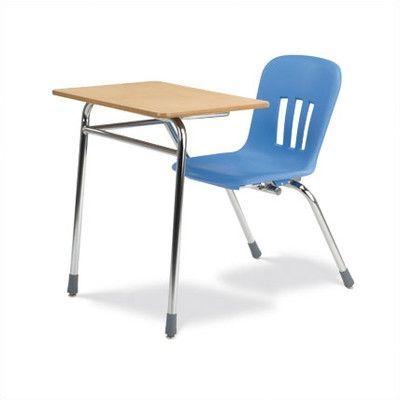Virco Metaphor Series Laminate 31 Classroom Combo Chair Desk