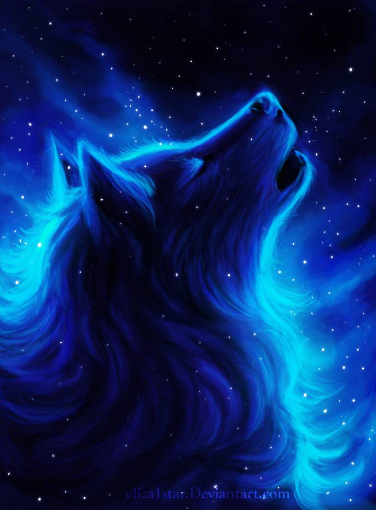 Wolf Track By Eliza1star On Deviantart Anime Wolf In 2020 Wolf Artwork Wolf Wallpaper Wolf Painting