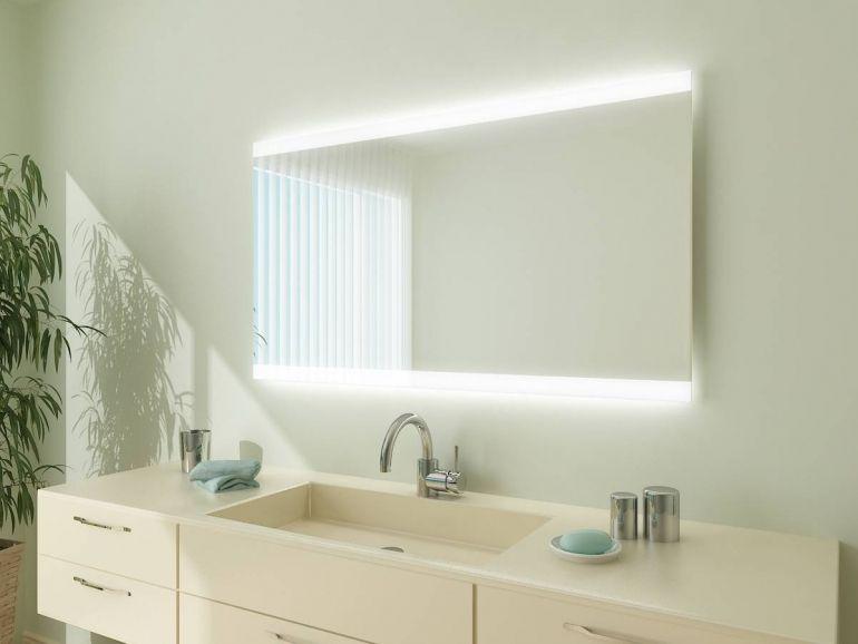 Badezimmerspiegel led ~ Badspiegel mit led beleuchtung miami m l h beleuchtung