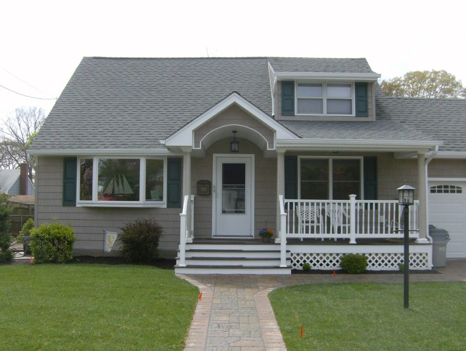 Decks And Porticos Shells Only Home Improvements Portico Updating House House Exterior