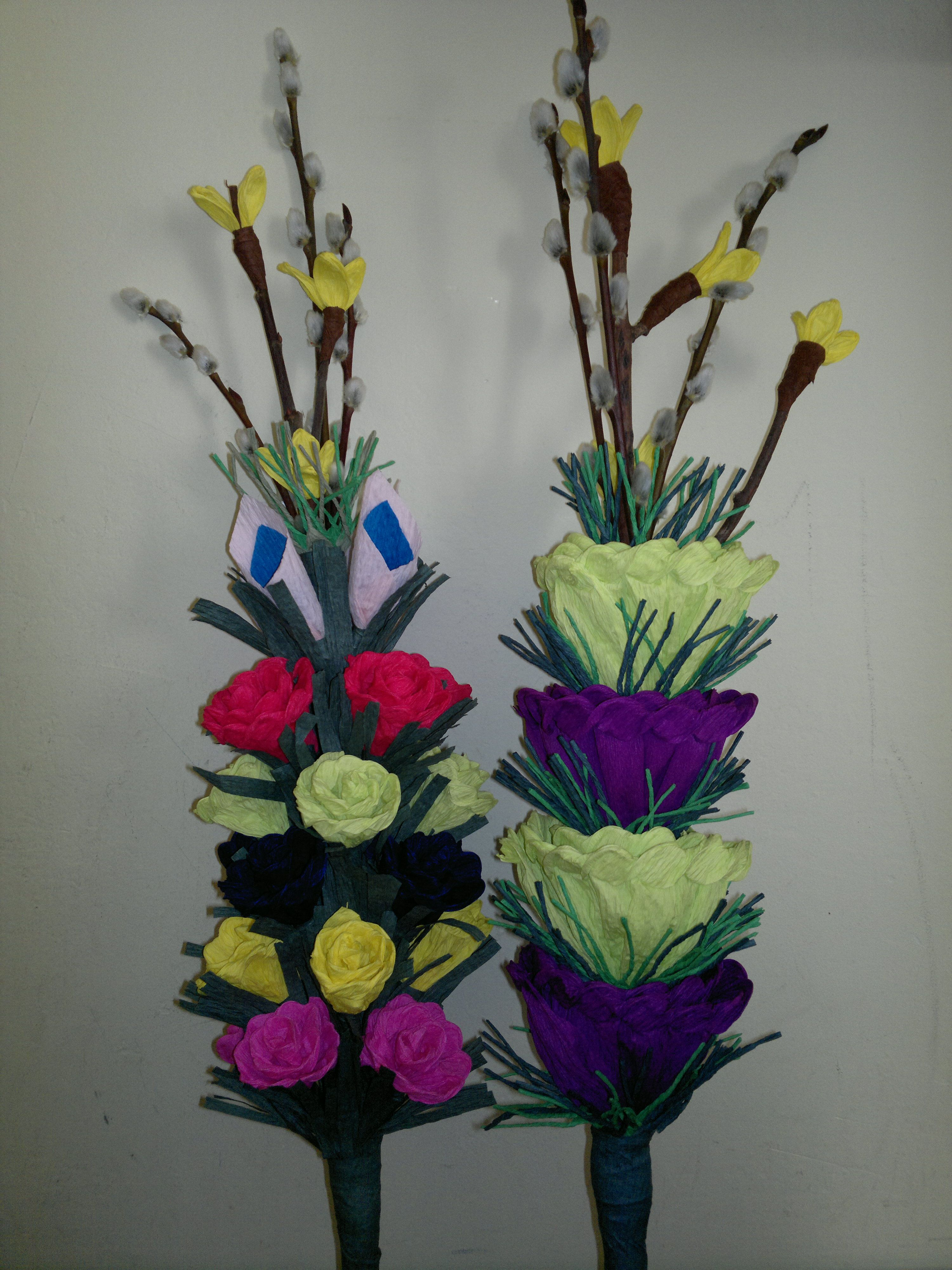 Palmy Wielkanocne Paper Flowers Easter Spring Diy And Crafts