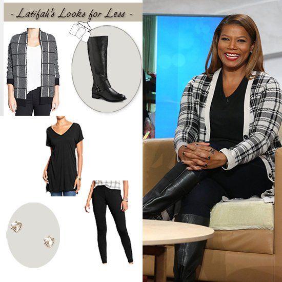 Queen Latifah's look for less: Tuesday 9.23.14