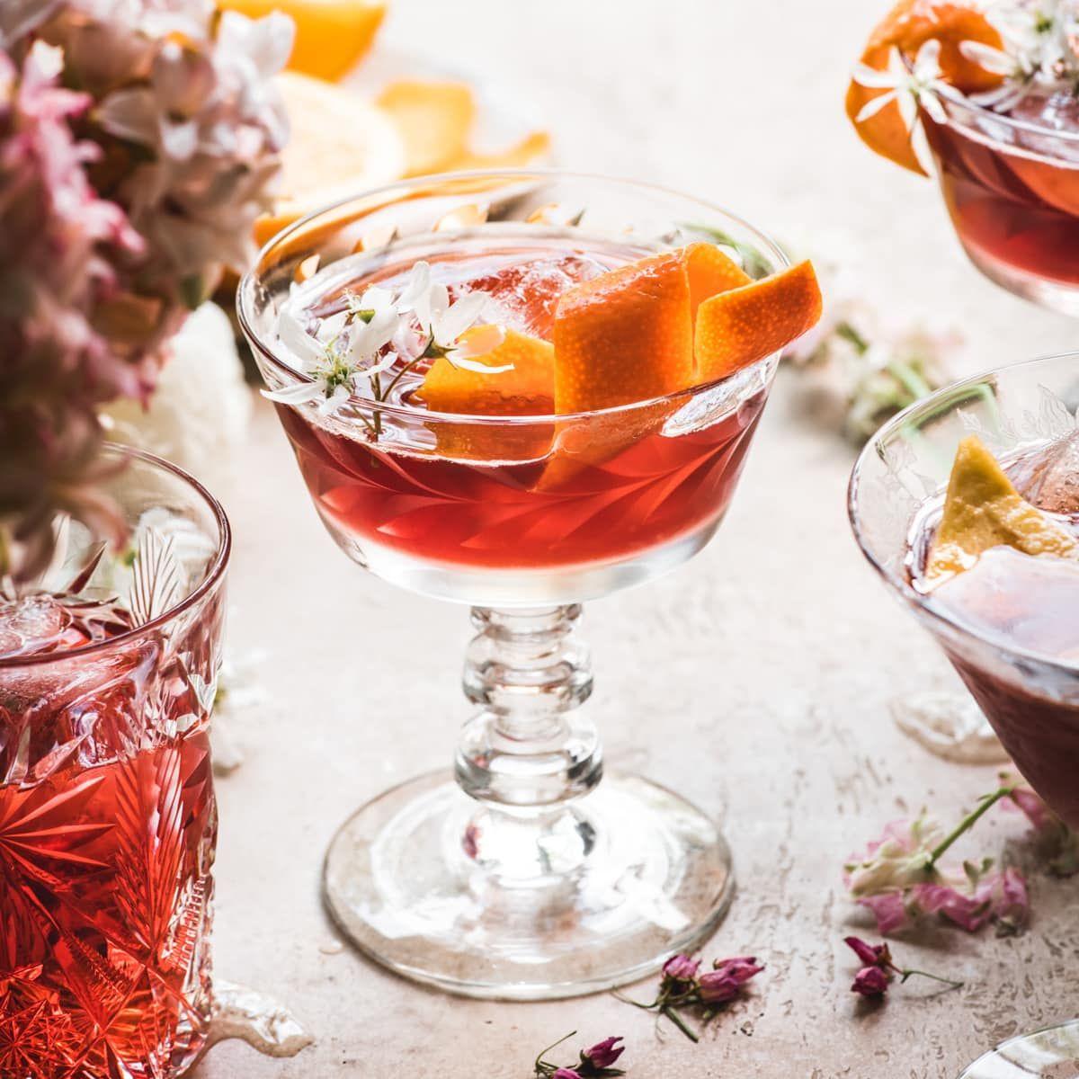 Cherry Negroni Recipe Crowded Kitchen Recipe In 2020 Negroni Recipe Classic Cocktail Recipes Recipes
