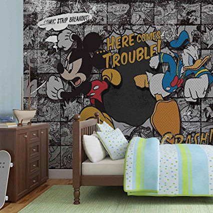 Disney Micky Maus - Wallsticker Warehouse - Fototapete - Tapete ...