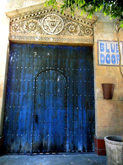 Blue Doors....literally