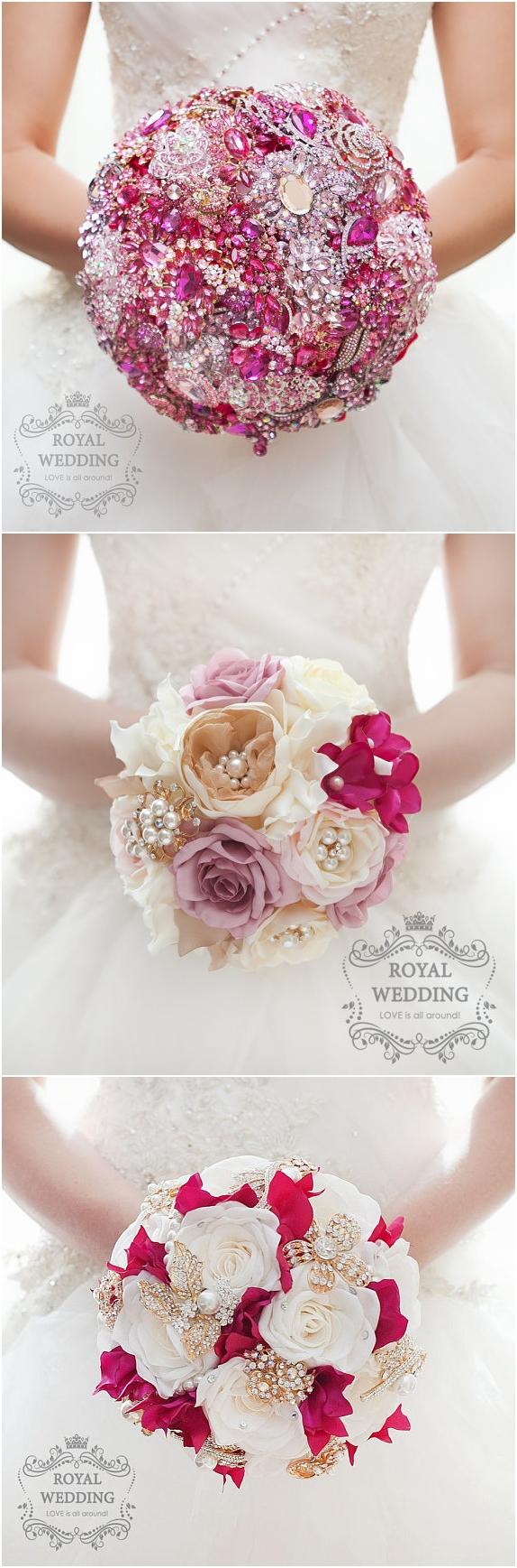 Wedding Bouquet Bridal Bouquet Brooch Bouquet Bridesmaid Bouquet