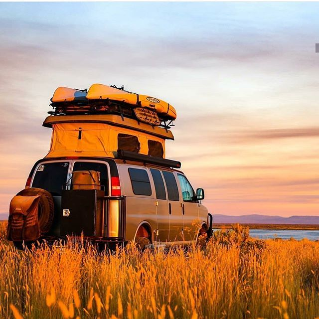 Camper Van Conversions Famvan Files In Their Sportmobile With Aluminess Gear Up Early To Catch The Oregon Sunrise