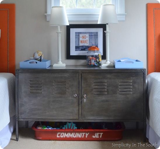 Aged Steel Cabinet (Knock Off Decor) | Ikea cabinets, Steel and ...