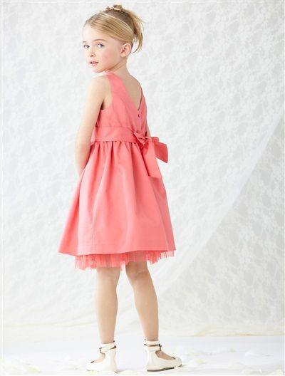 Vertbaudet Mädchen Kleid (Dress). Hübsches Kleid für Mädchen in ...
