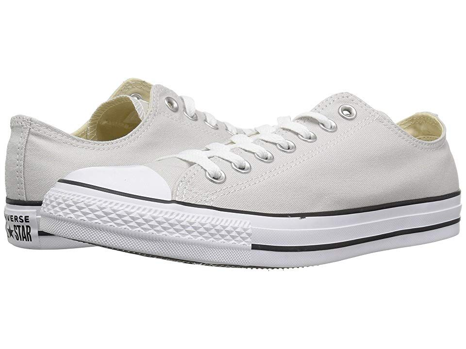 7a4497ff28a7e3 Converse Chuck Taylor All Star Seasonal Ox (Mouse Grey) Athletic Shoes.  Whatever the