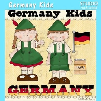 Germany Kids Color Clip Art C Seslar Germany For Kids Kids