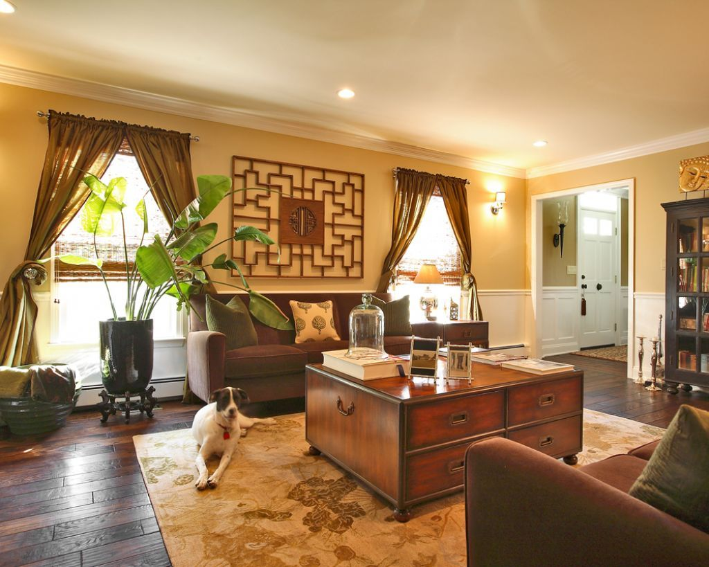 Interior Oriental House Interior Design Brings Asian and Indian