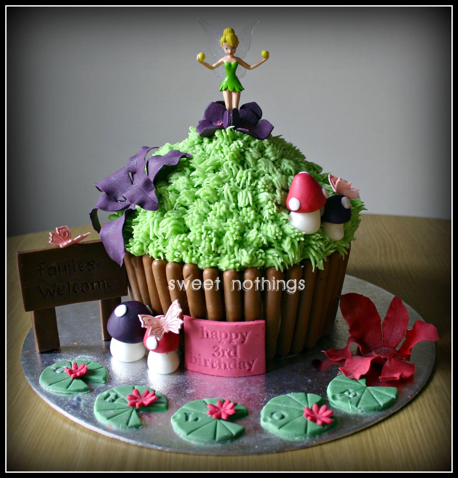 Tinkerbell Cake Sweet Nothings