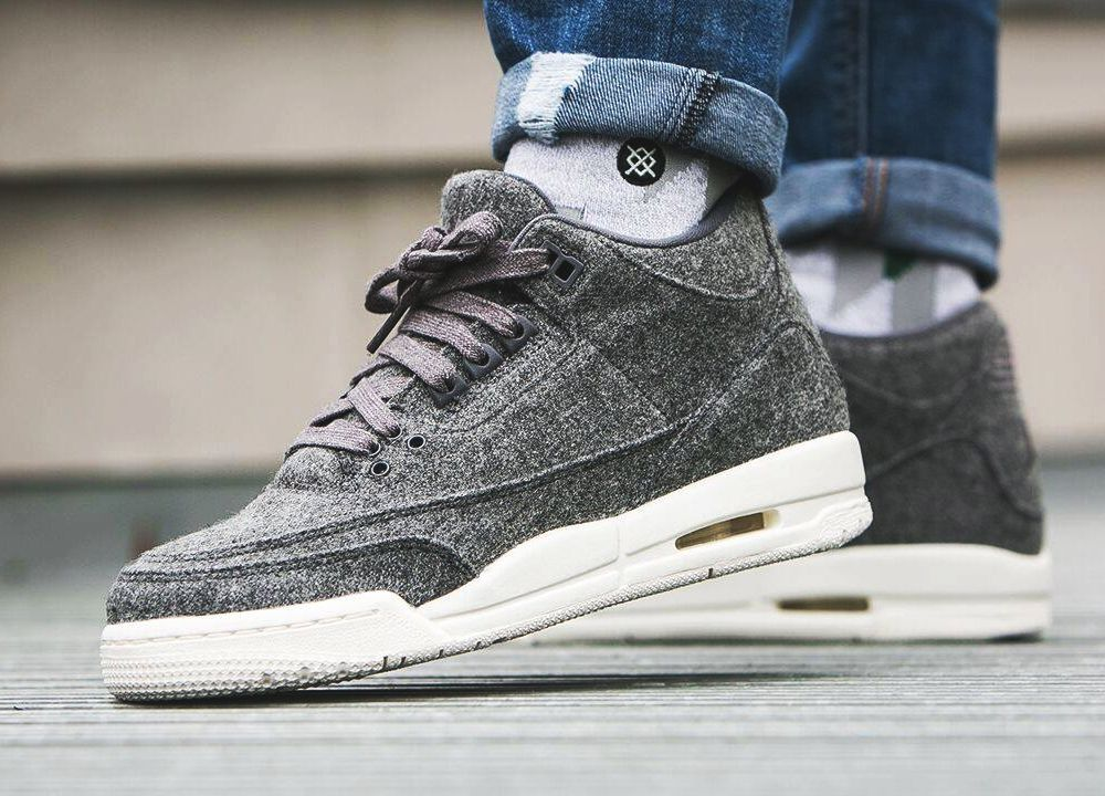 Nike Air Jordan 3 Retro Wool - 2016 (by worldbox) Buy here: Jimmy