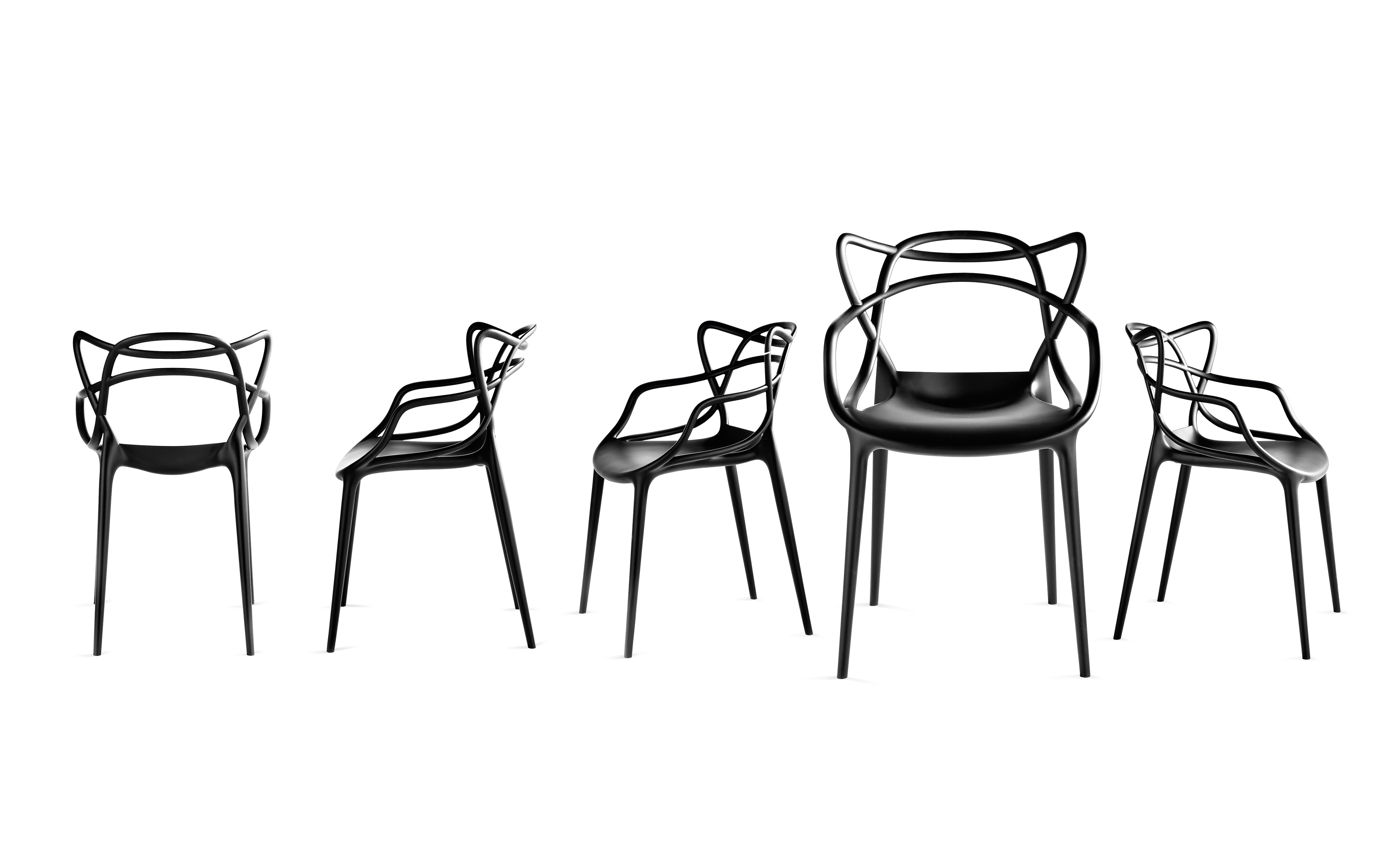 Masters Chair With Arms By Philippe Starck With Eugeni Quitllet For Kartell