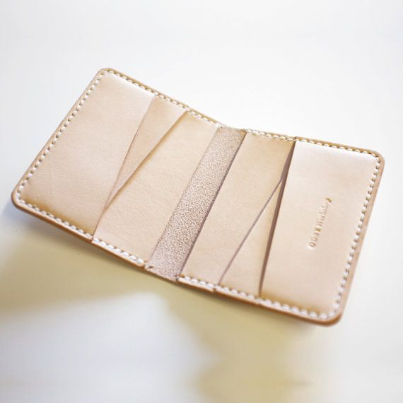 Items similar to Lombard Bifold Leather Wallet on Etsy #leatherwallets