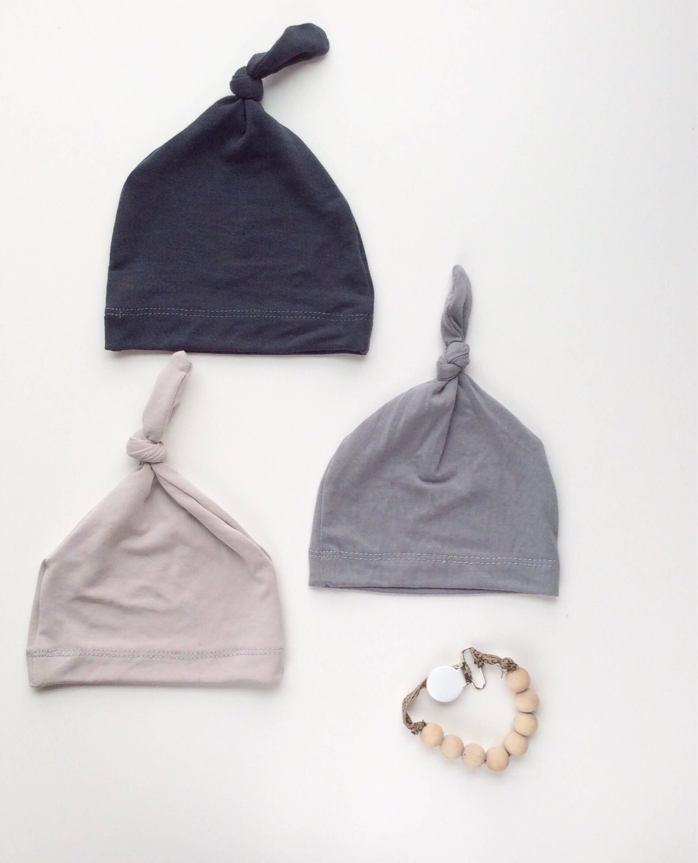 64b83ac32 Bamboo baby hat Gray hat Newborn boy clothes Boy coming home outfit ...
