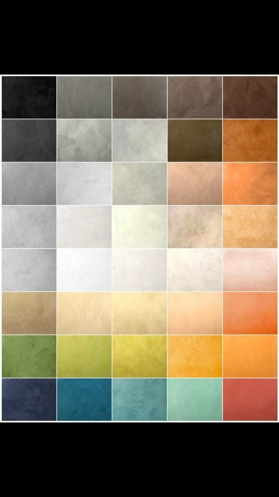 Recommended Polished Concrete Colours Ral colours, Appointments - ral color chart