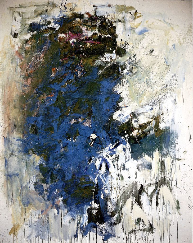 joan mitchell blue tree 1964 art pinterest joan mitchell