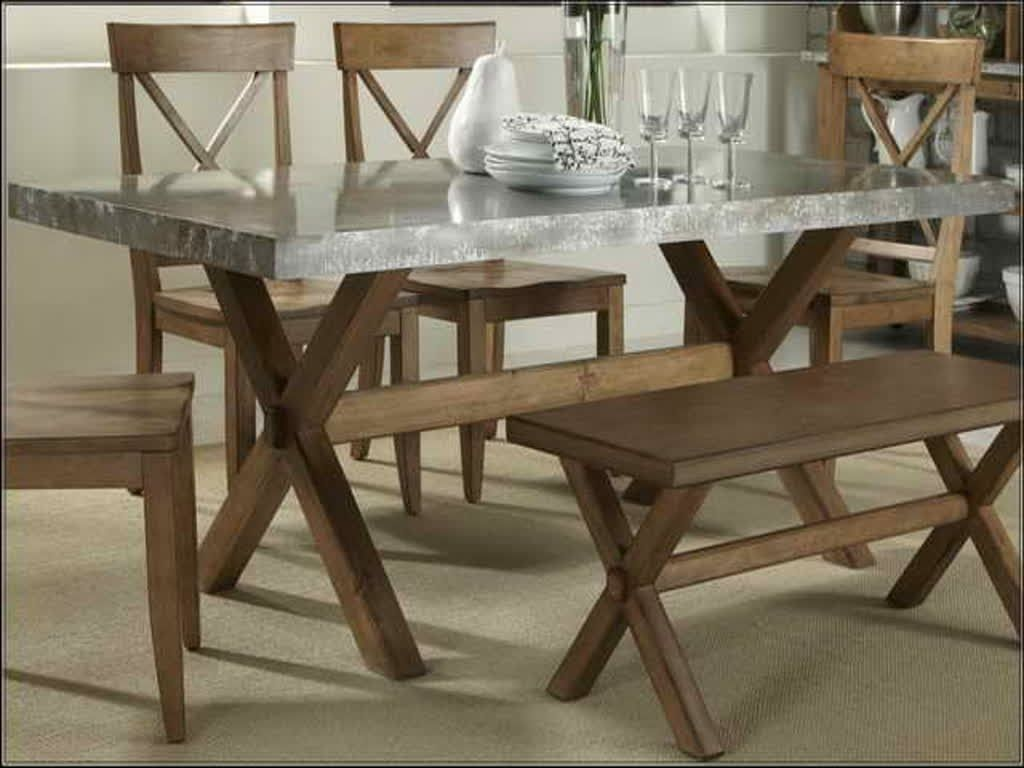 image of dining table zinc dining room table pythonet home rh pinterest com