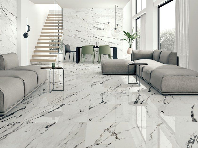 Barana Supplies A Wide Assortment Of Tile Colors And Choices Including White Marble Flooring Carra Marble Flooring Design White Marble Floor Marble Tile Floor