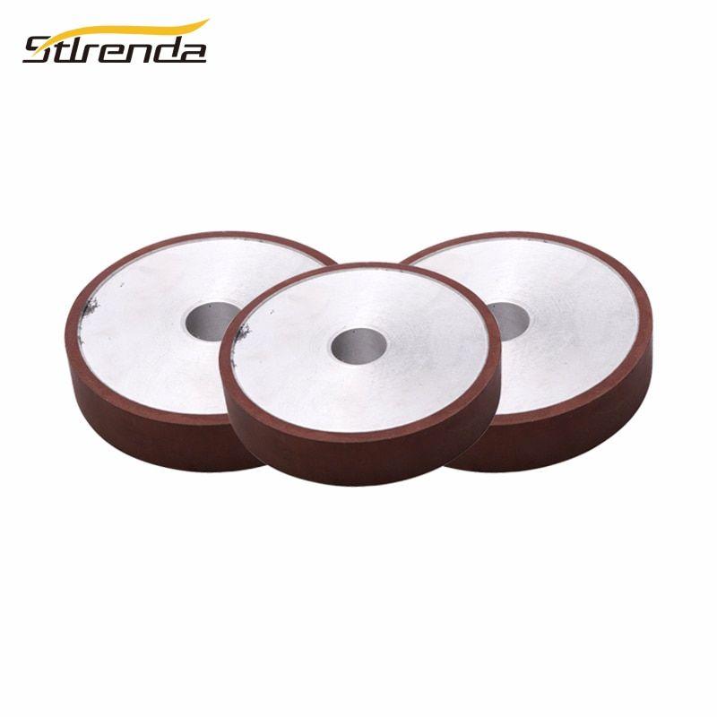 Stlrenda Diamond Grinding Wheel 100 125 150 175mm Dia Parallel Resin 80 8000 Grit Grinding Disc Saw Blade For Abrasive Tools Stlren Saw Blade Grit Abrasive