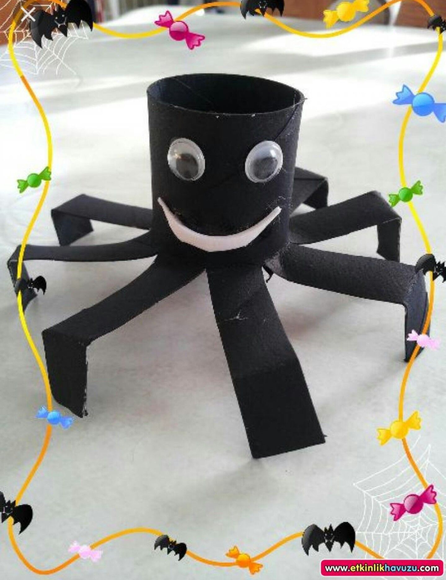 Toilet Roll Spider With Images