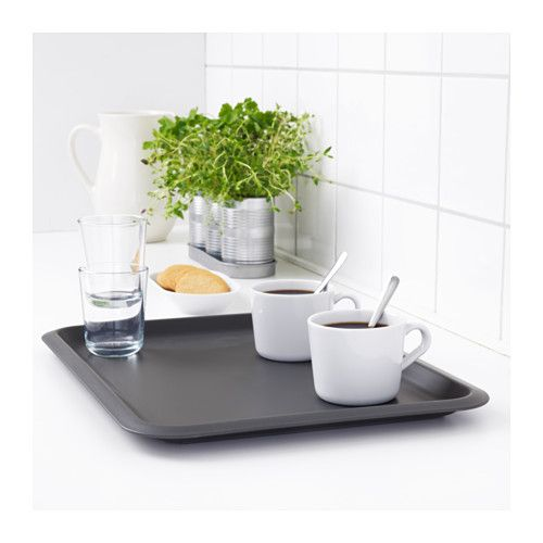 fungera tray gray trays coffee tray and kitchenware. Black Bedroom Furniture Sets. Home Design Ideas