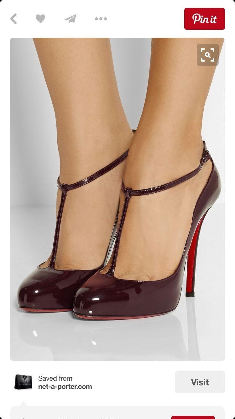 chaussures louboutin a bordeaux