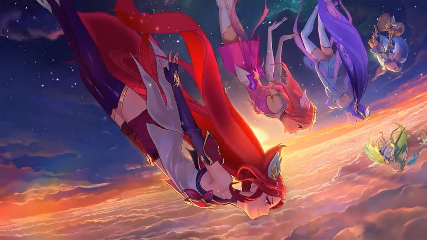 star guardians burning bright wallpaper engine wallpapers engine