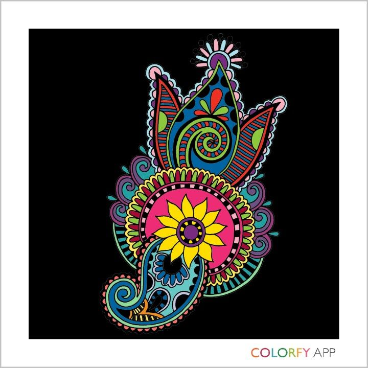 Beautiful colorfy coloring apps coloring books