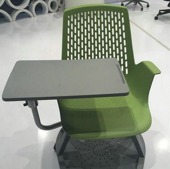 Modern Plastic Training /student Chairs With Writing Pad / Study Chairs /  China Foshan Ergonomic Office Chair, Computer Seating Manufacturer